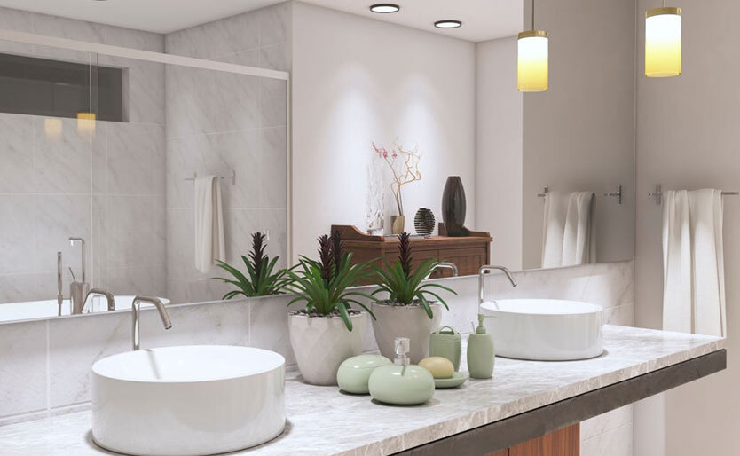How to Get Spa Lighting in Your Bathroom